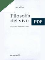 Jullien Francois - Filosofia Del Vivir