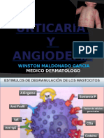 Medicina III - Urticaria y Angioedema