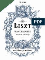 Liszt Wander Jahre