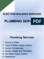 ELEC 3105 Building Services - Plumbing Services_1-3_Rev 1