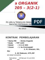 Kimia Organik Tpp1205_2016