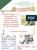 Thème 211- Etape 2 - Les déterminants  les analyses  traditionnelles.ppt