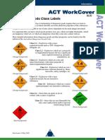 Dangorous Goods Classes & Labels