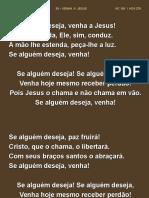 38 – Venha a Jesus