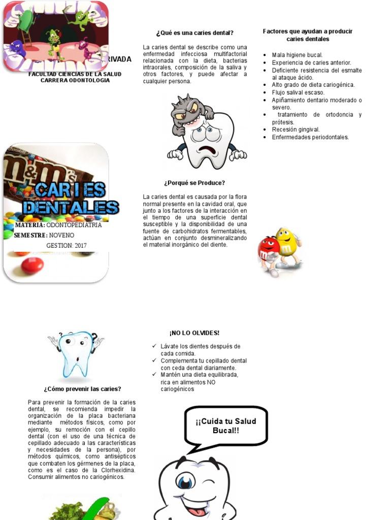 dieta y caries dental pdf