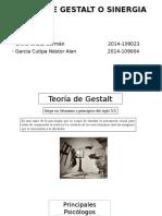 Teoría de Gestalt FINAL