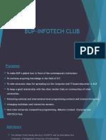 Bup Infotech Club