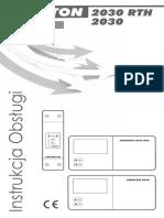 Instrukcja AURATON 2030 2030RTH Pl