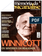 Winnicott - Sentidos Da Realidade