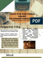 Issue Etikolegal Ppt