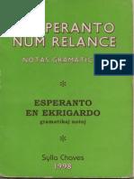 Esperanto Num Relance - Sylla Chaves