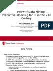 DataMiningOverview Galambos 2015-06-04