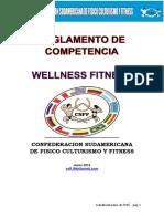 Reglamento Wellness Fitness 2015