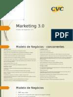 Marketing 3.0 - CVC