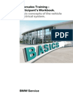 Basic concepts of the vehicle electrical system.BMW