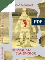 ცირა ბარბაქაძე - სემიოტიკური წარ(მო)დგენა - (2017)