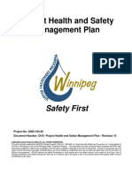 Project Health & Safety Management Plan