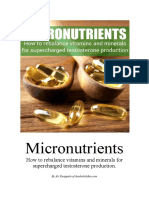 Micronutrients Increase Testosterone