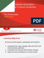 Diabetes Guidelines Canada 2015