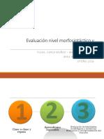 11° Evaluación Morfosintaxis y Discurso
