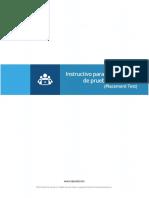 Guía Presentación Prueba Diagnóstica DynEd - Usuarios
