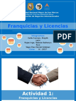 Franquicias Tarea 1