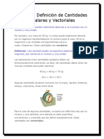 Vector Es