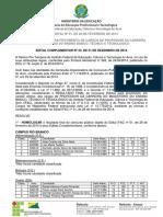 EDITAL_COMPLEMENTAR_Nº23_-_EDITAL_Nº_01_2014_-_DOCENTE_-_HOMOLOGAÇÃO (1)