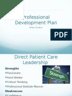 professional development plan- brodeur