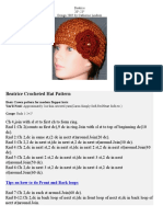 Crochet - Beatrice Hat