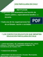 Instituciones de Educacion Parvularia en Chile