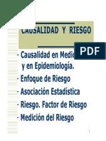 Causalidad y Riesgo (Dr Palladino)