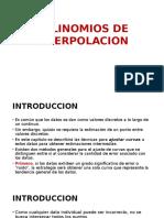 Polinomios de Interpolacion