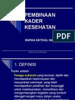 1. Pembinaan Kader Kesehatan & Dukun Ppt