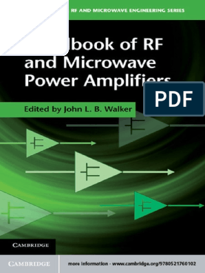Handbook Of Rf And Microwave Field Effect Transistor Mosfet