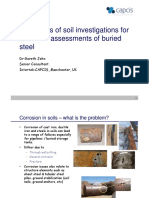 Dr Gareth John - UMIST - Limitation Soil Inv
