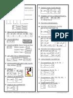 Formulario de Termodinamica