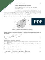 Teorema General Del Transporte