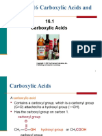 16 CH105 Carboxylic Acids & Esters