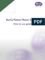 PV3200PT SW270PT_Palette Master Element_How to Use Guide_EN