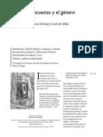 Las encuestas y el género Patricia Fortuny Loret de Mola