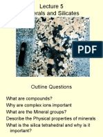 Lecture 5  f 2014 -minerals and silicates.ppt