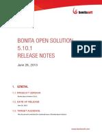 Bonita Open Solution 5.10.1 Release Notes