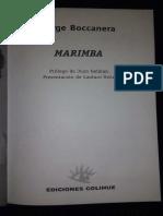Marimba - Jorge Boccanera