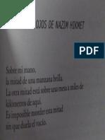 J_Boccanera_=Marimba=_HABLAN LOS OJOS DE NAZIM HIKMET