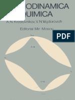 A.N. Krestóvnikov - Termodinámica Química