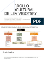 Desarrollo Sociocultural de Lev Vigotsky (1)