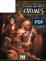 The Advanced Race Codex Gnomes D D 3 5 d20