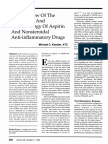 An Overview of the Physiology and Pharmacology of Aspirin NSID