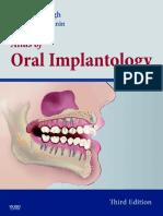 2010 Atlas of Oral Implantology
